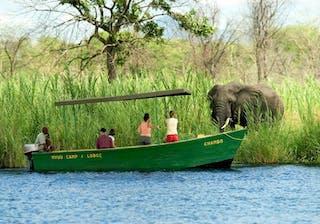 10A  Mvuu Lodge Boat Safari