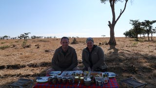 Bush Breakfast Out On The Plains