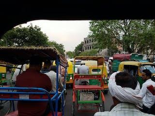 Gridlock in Delhi