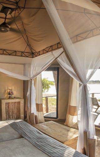 3 Rivers Camp Tent Interiors