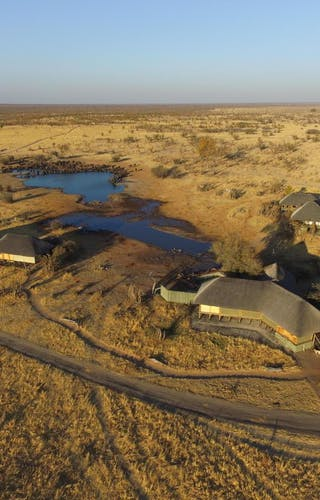 Aerial View Of Nehimba Lodge