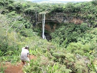 Chamarel Waterfall Photographer