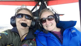 Pretending To Be A Pilot With Instructor Rowena