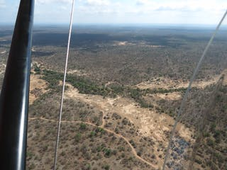 Flying Over Big 5 Game Country