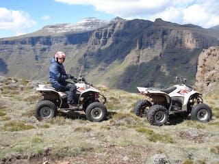 Quad Biking In The Drakensberg