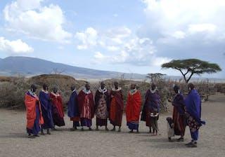 A Masai Village In Tanzania