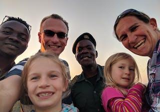 A Family Selfie In Majete