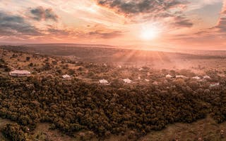 A Sunrise View Of The Hemingways Ol Seki Mara Camp