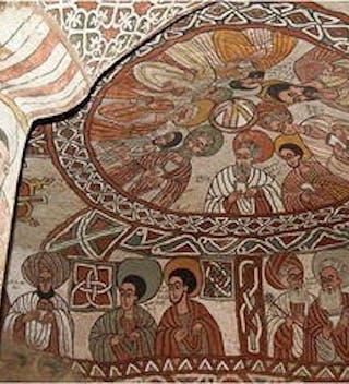 Abuna Yemata Guh Interior