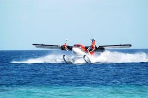Adaaran Select Meedhupparu Seaplane Arrival