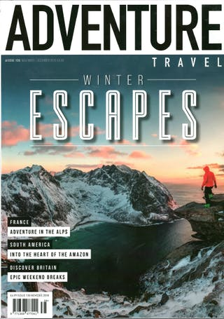 Adventure Travel Magazine Dec 2018 Cover
