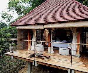 Aerial Image Of Forest Pavilion At Living Heritage Koslanda