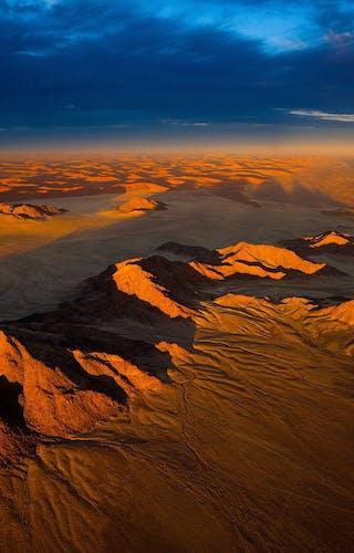 Aerial Shot Of Namib Desert Sossusvlei Copy