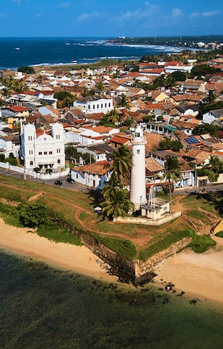 Aerial View Of Galle