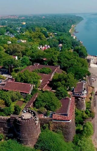 Ahilya Fort From Above