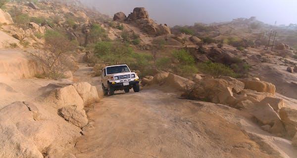 Al Baha Shada Mountain
