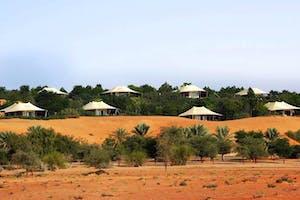 Al  Maha  Desert  Resort  Exterior
