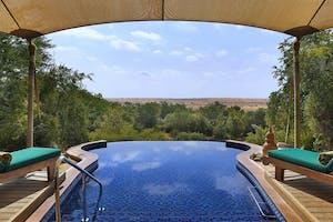 Al  Maha  Desert  Resort  Infinity  Pool