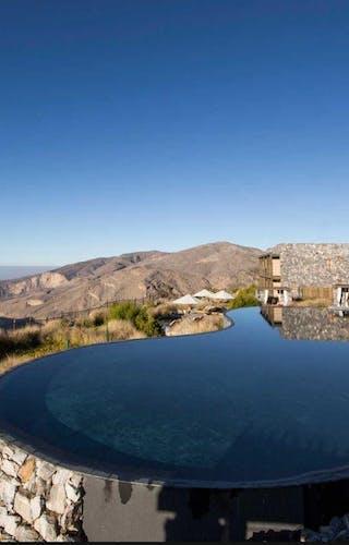 Alila Jabal Akhdar Pool And View