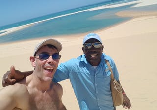 Andy In Mozambique