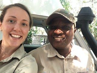Astronomer Godfrey And Rebecca At Pumulani In Malawi