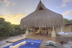 Azura Benguerra Beach Villa Exterior