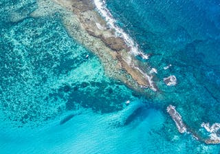 Azura Benguerra Two Mile Reef From Above