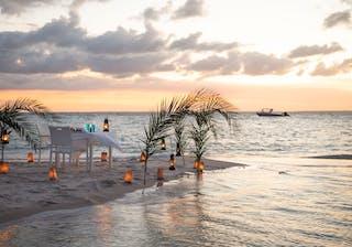 Azura Marlin Beach Dinner At Sunset
