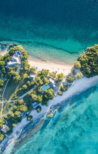 Azura Quilalea Aerial View