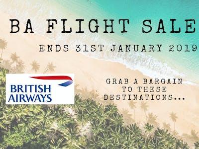 Ba Flight Sale 2019