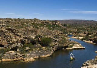 Bushmans Kloof Canoeing on the Olifants River Tributaries