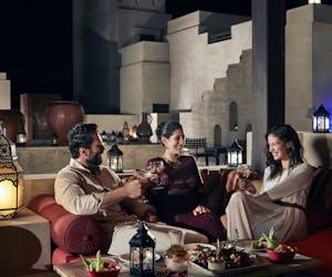Bab Al Shams Rooftop Lounge
