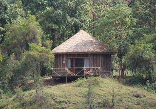 Bale  Mountain  Lodge Round Room