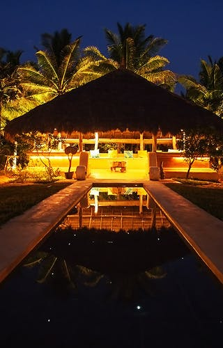 Bar Reef Resort At Night