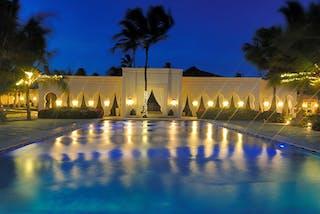 Baraza  Hotel And  Resort Pool At Night 1