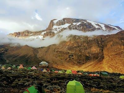 Barranco Wall On Kilimanjaro