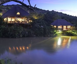 Bayethe Tented Lodge After Dark