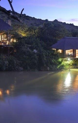 Bayethe Tented Lodge After Dark