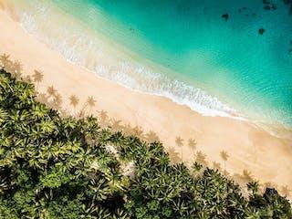 Beach On Principe Bom Bom Resort