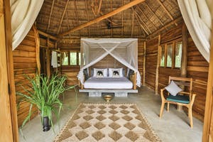 Bedroom At  Gal  Oya  Lodge