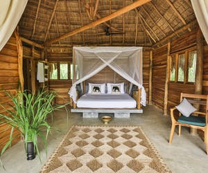 Bedroom At Gal Oya Lodge