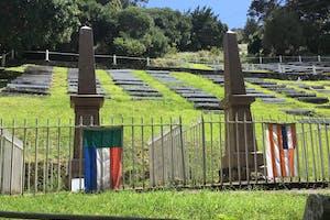 Boer Cemetery On St Helena