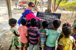 Brahmaputra Cruise  Bangla  Village