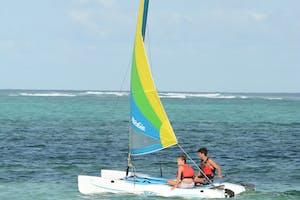 Breezes  Beach  Club And  Spa Sailing