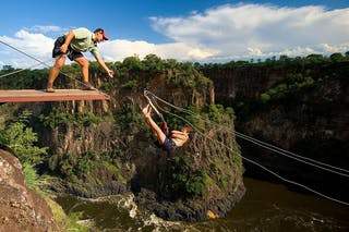 Bungee Jumping Illala Lodge
