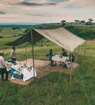 Bush Breakfast Ishasha Wilderness Camp