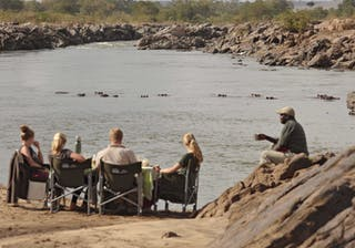 Bush Breakfast At Azura Selous Game Reserve