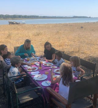 Bush Breakfast At Kuthengo Camp Liwonde