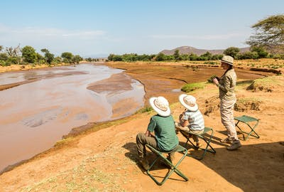 Bush Breakfast On The Banks Of Ewaso Nyiro River In Samburu