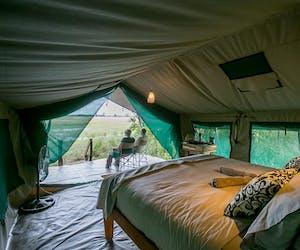 Bushman Plains Tent Interior